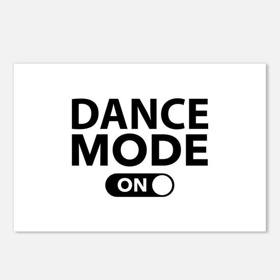Dance Mode On Postcards (Package of 8)