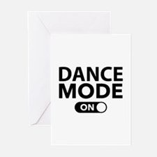 Dance Mode On Greeting Cards (Pk of 20)