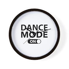 Dance Mode On Wall Clock