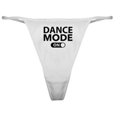 Dance Mode On Classic Thong