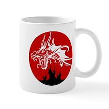 Red Sun Dragon Mug