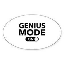 Genius Mode On Decal
