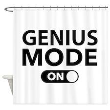 Genius Mode On Shower Curtain
