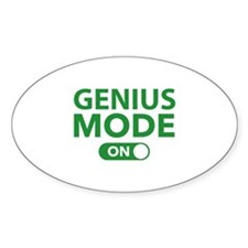 Genius Mode On Decal