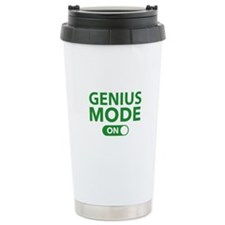 Genius Mode On Travel Mug