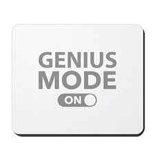 Genius Mode On Mousepad