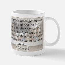 1 Peter 2:9 Mug