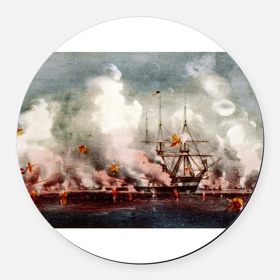 Victorious bombardment of Port Royal, SC - 1907 Ro