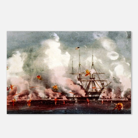 Victorious bombardment of Port Royal, SC - 1907 Po