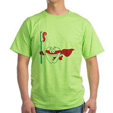 superhero tooth with toothbrush T-Shirt