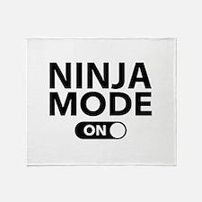 Ninja Mode On Stadium Blanket