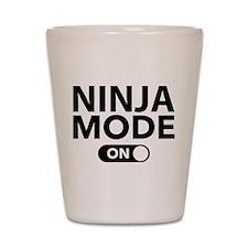 Ninja Mode On Shot Glass