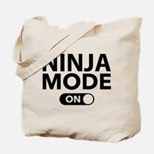 Ninja Mode On Tote Bag