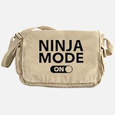 Ninja Mode On Messenger Bag