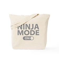 Ninja Mode On Tote Bag