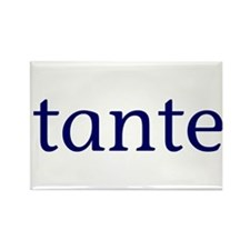 Tante Rectangle Magnet