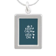 Keep Calm and Dive On Necklaces