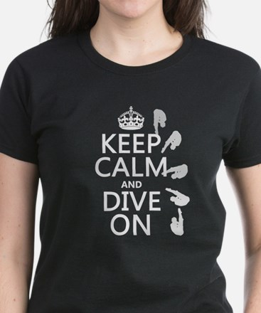 Keep Calm and Dive On T-Shirt