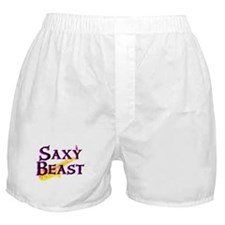 Saxy Beast Saxaphone Boxer Shorts