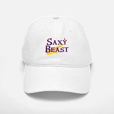 Saxy Beast Saxaphone Baseball Baseball Cap