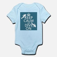 Keep Calm and Dive on (scuba) Body Suit