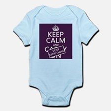 Keep Calm and Deny Everything Body Suit