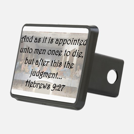 Hebrews 9:27 Hitch Cover