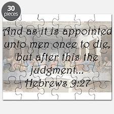 Hebrews 9:27 Puzzle