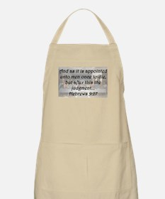 Hebrews 9:27 Apron
