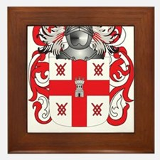 Bris Coat of Arms Framed Tile