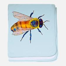 Bee baby blanket