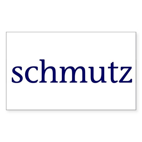 Schmutz Rectangle Sticker