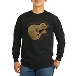 The Air Guitar Long Sleeve Dark T-Shirt