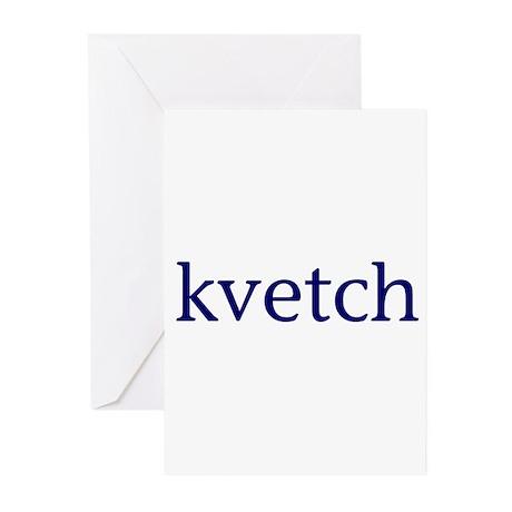 Kvetch Greeting Cards (Pk of 10)
