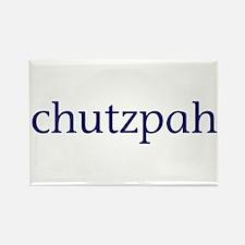 Chutzpah Rectangle Magnet