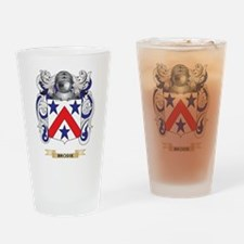 Brodie Coat of Arms Drinking Glass