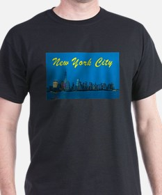New York City Skyline at night T-Shirt