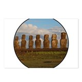 Easter island Postcards