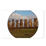Easter island Postcards