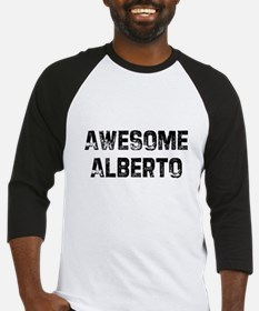 Awesome Alberto Baseball Jersey
