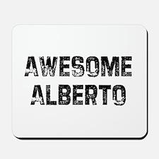 Awesome Alberto Mousepad