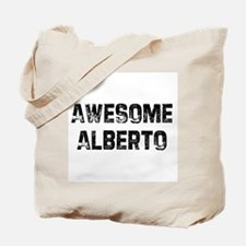 Awesome Alberto Tote Bag