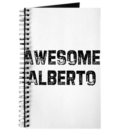 Awesome Alberto Journal