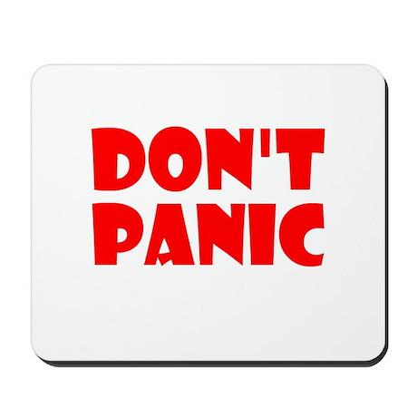 Dont Panic Hitchhikikers Mousepad