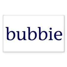 Bubbie Rectangle Decal