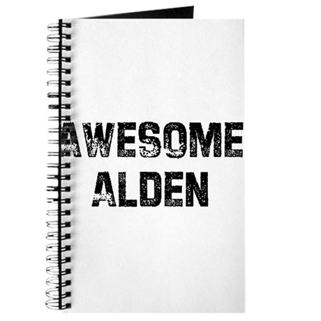 Awesome Alden Journal