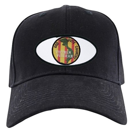 Vietnam/Duty/God/Country.. Black Cap