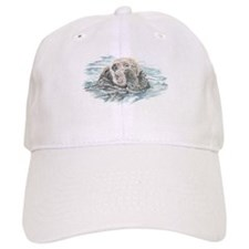 Cute Watercolor Otter Animal Hat