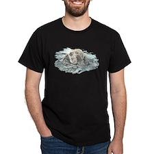Cute Watercolor Otter Animal T-Shirt