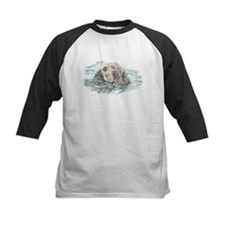 Cute Watercolor Otter Animal Baseball Jersey